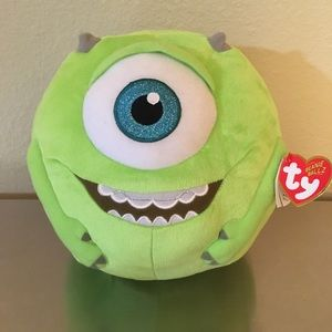 """NWT Mike Monsters University TY Beanie Ballz 8"""""""